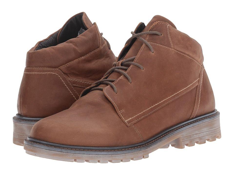Naot Footwear Limba Men's Shoes Saddle Brown Leather