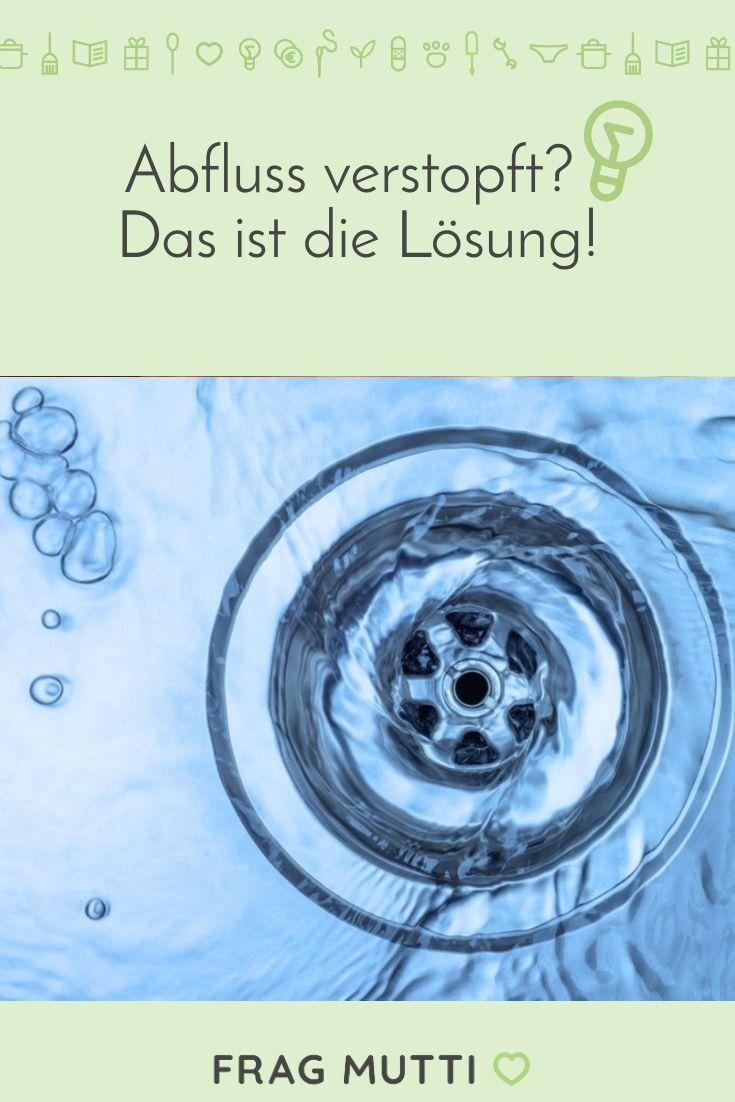 Verstopften Abfluss reinigen Diese Hausmittel helfen