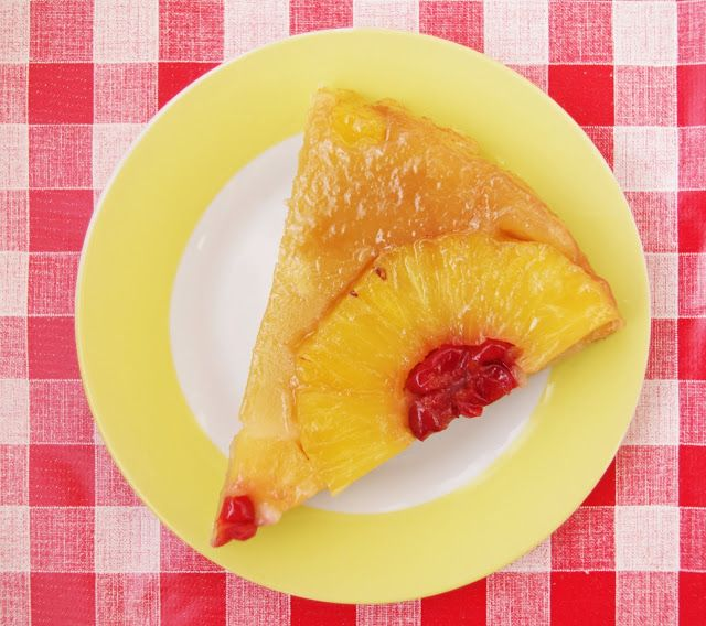 Vegan Powar: Пирог с ананасовыми кольцами