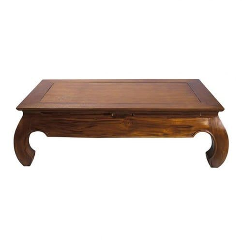 basse table Tables et du teckMaison monde bureauxTable R54ALq3j