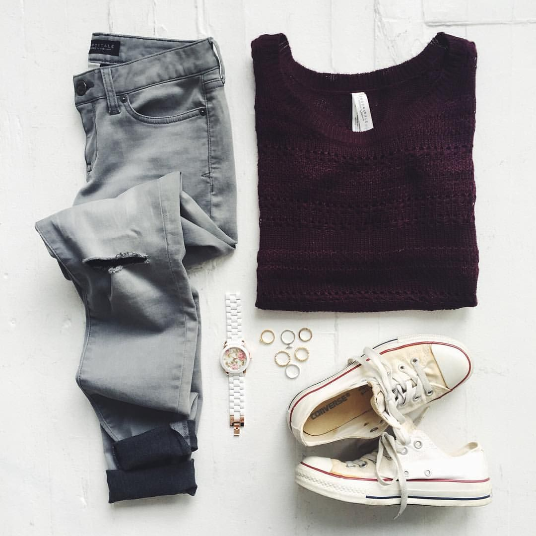 my closet is ready for fall. shop this look from the link in our bio.
