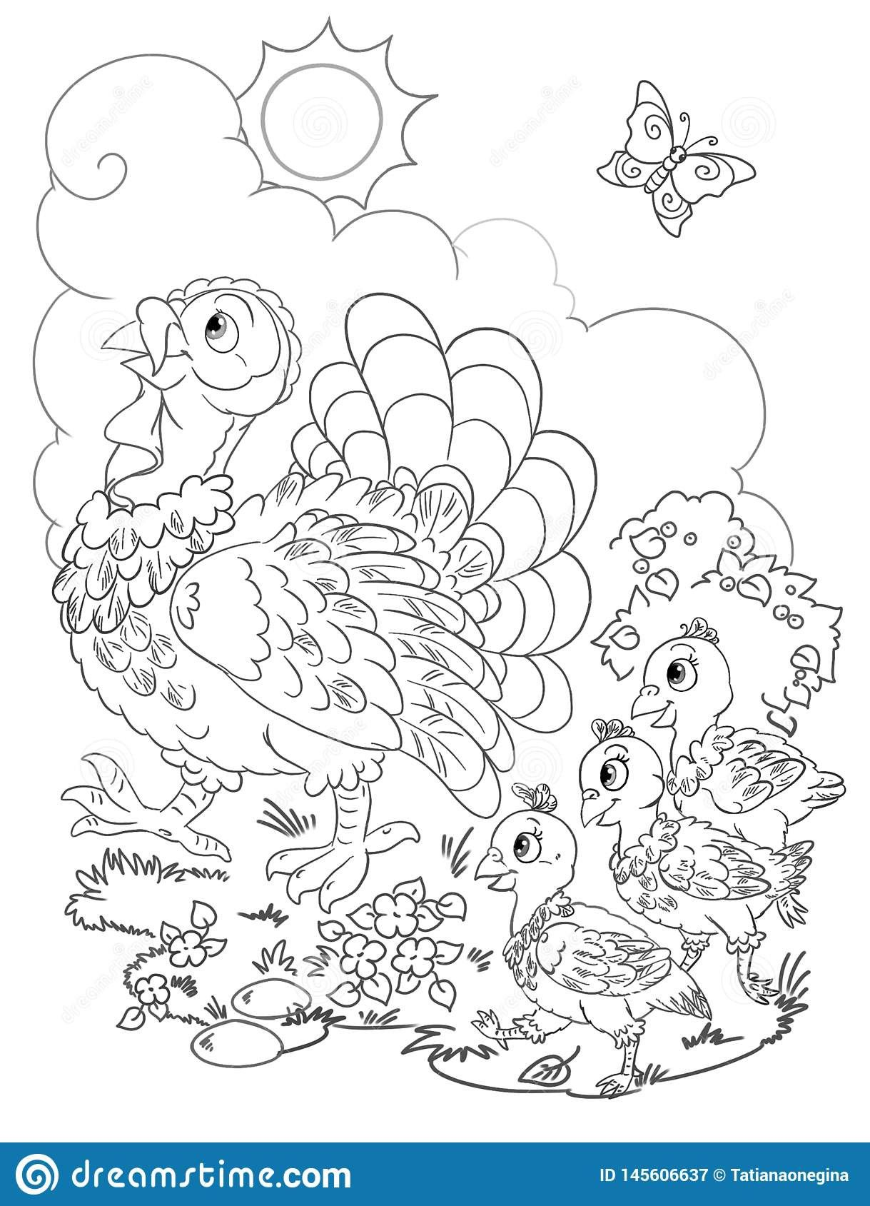 Turkey Outline Coloring Page Youngandtae Com Turkey Coloring Pages Thanksgiving Coloring Pages Coloring Pages