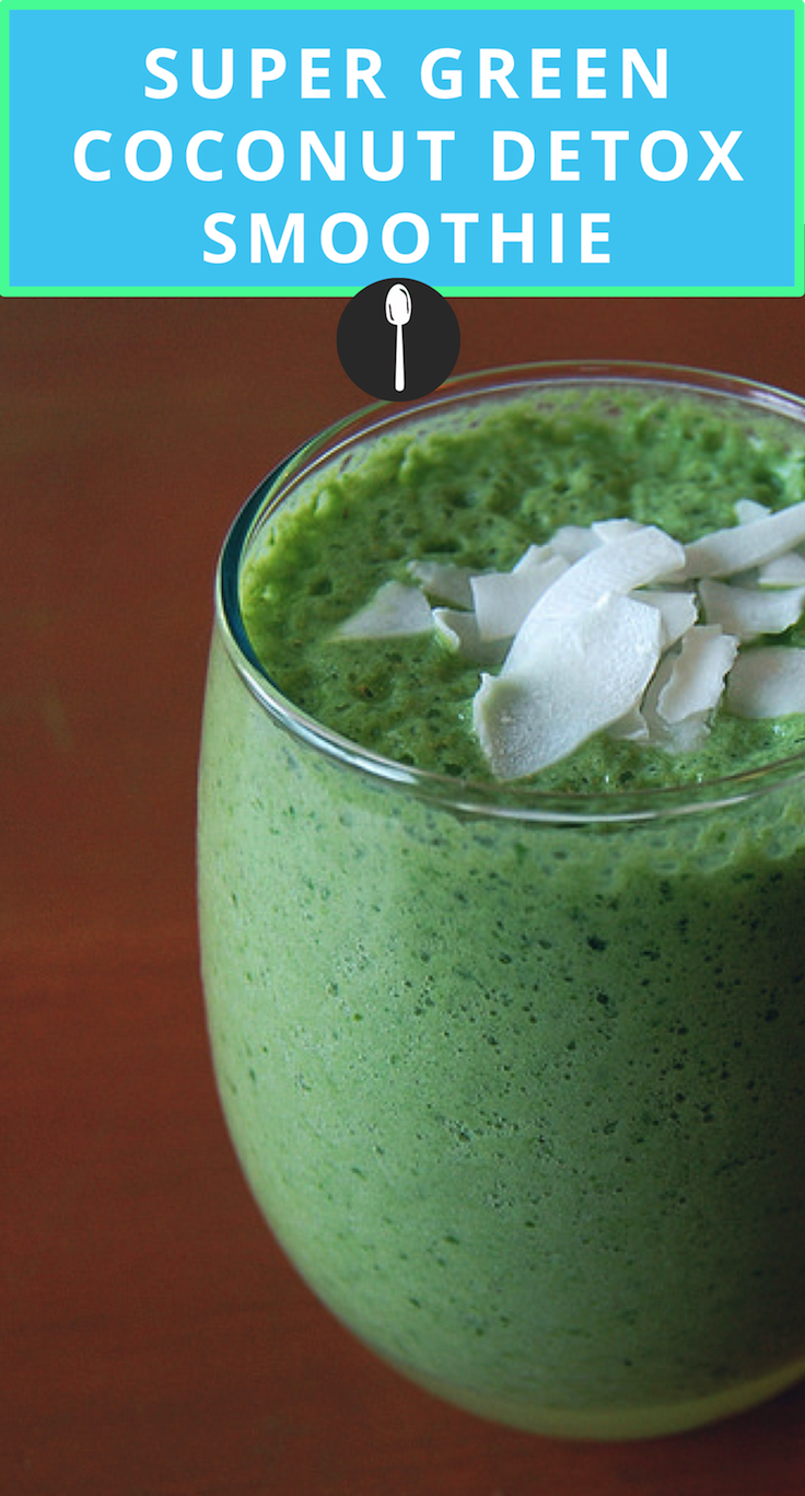 Try this green coconut smoothie for a refreshing and healthy smoothie.