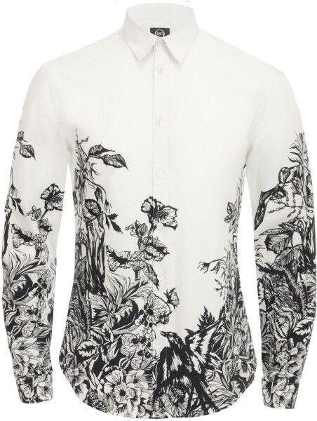 e9219739e2 Alexander McQueen printed shirt !!