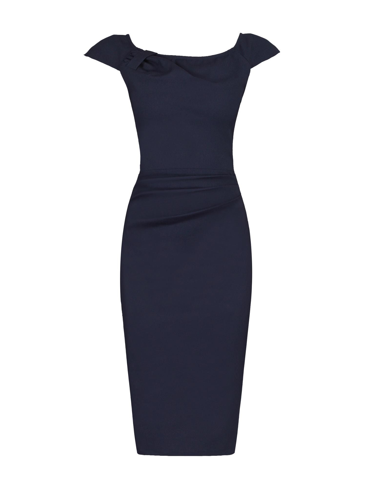 Black dress house of fraser - Jolie Moi Ruched 40s Wiggle Dress House Of Fraser