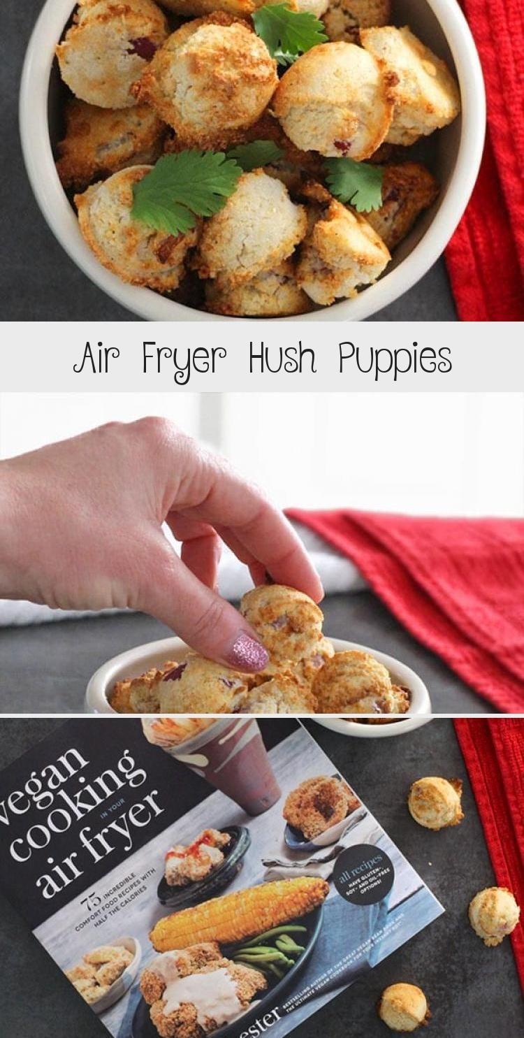 Air Fryer Hush Puppies Vegan Appetizers Potluck Recipes Coffee Cake