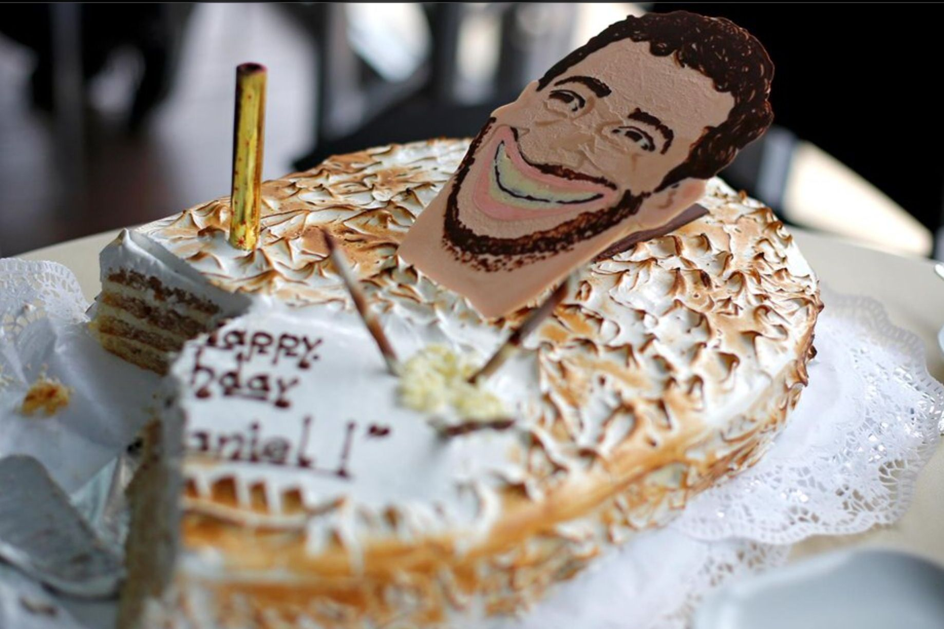 Ricciardo birthday 2014