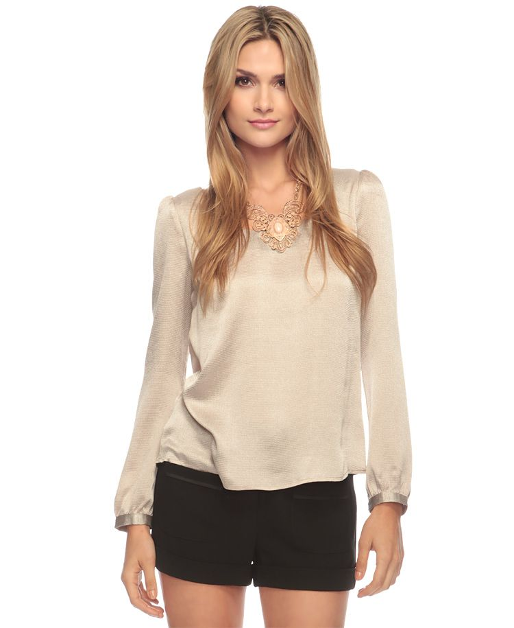 textured button back top  forever21.com