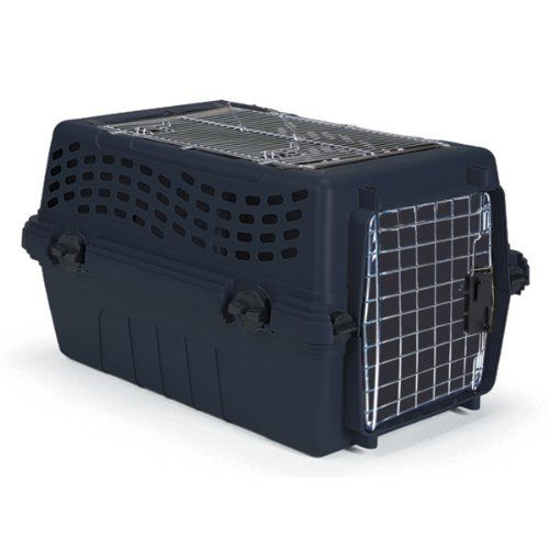 $46.49-$73.39 The Intermediate Double Door Deluxe is an easy-to-access kennel. It is Recommended For Both Cats and Small Dogs Such as A Chow Chow Etc. The Kennel features Access Doors Both On the Front and top. Product is a Plastic Shell W/Wire Access Doors On Both top and Front. Product measures 24in X 16.25in X 14.75in.