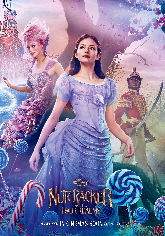 The Nutcracker And The Four Realms 2018 Nutcracker Movie Nutcracker Movie Posters