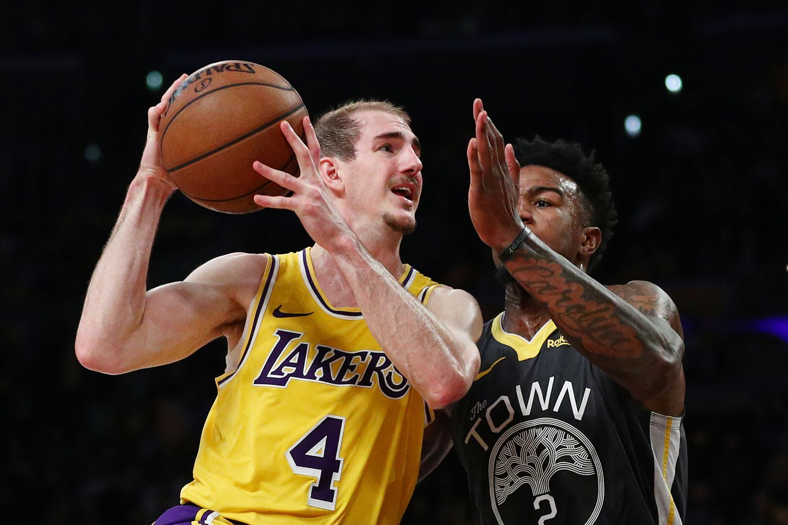 The Los Angeles Lakers Recently Re Signed Fan Favorite Point Guard Alex Caruso To A Two Year Deal To Join Rajon Rondo And Quin Los Angeles Lakers Lakers Caruso