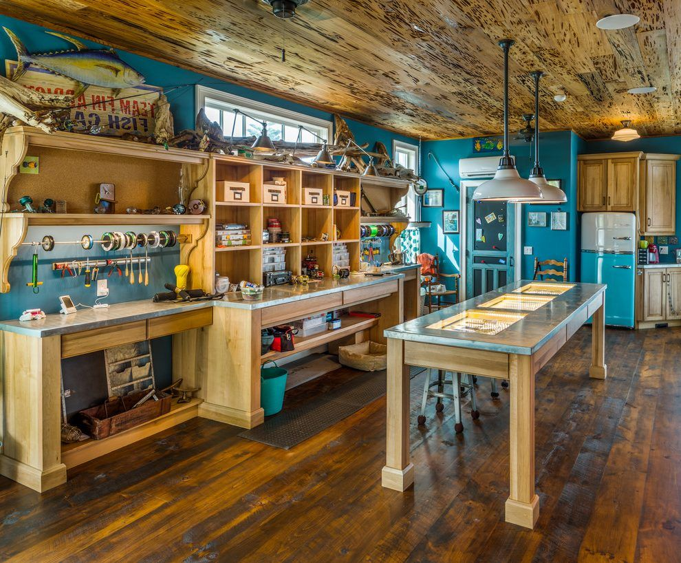 found on bing from www byrneseyeview com fishing room on top 55 best garage workshop ideas basics of garage workshop ideas explained id=30885