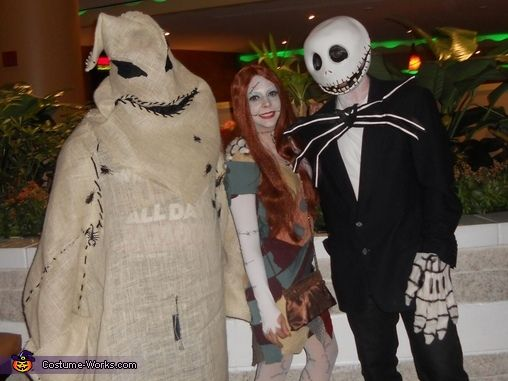 nightmare before christmas costumes | Before Christmas. Nightmare Before Christmas - Homemade costumes ...