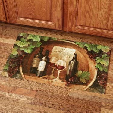 Kitchen Wine Decor Themes at the winery foam kitchen comfort mat   kitchens   pinterest