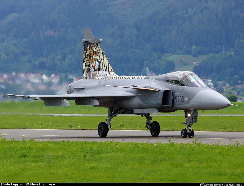 Czech Air Force JAS-39 Gripen Fighter