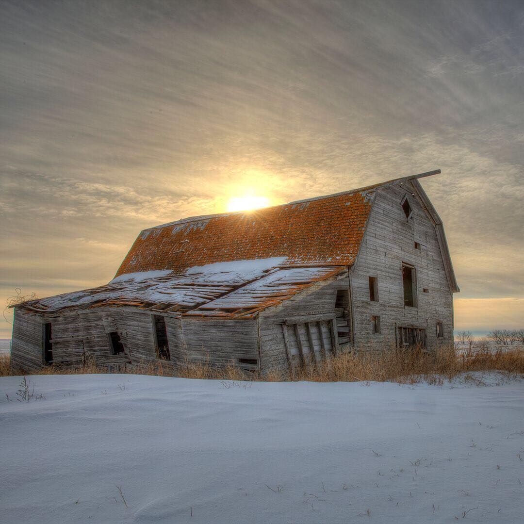 Best Abandoned Places Canada: Abandoned On The Prairies Of Canada.