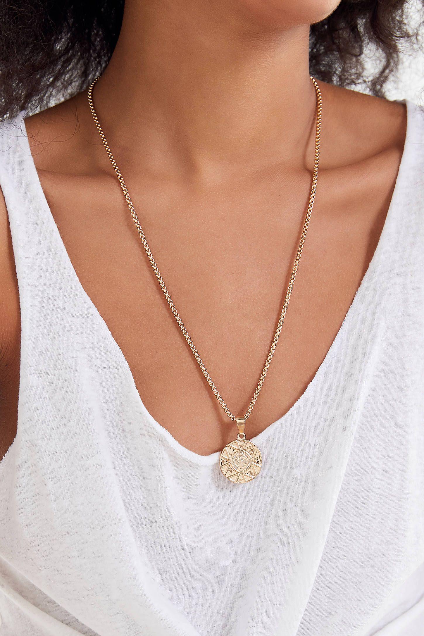 ea4f6a2fb6c Laurel Chunky Pendant Necklace | //accessories | Pendant necklace ...