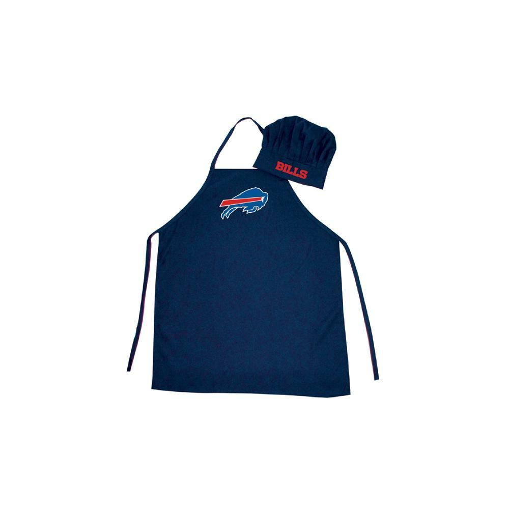 9274d445cc8 Buffalo Bills NFL Barbeque Apron and Chef s Hat