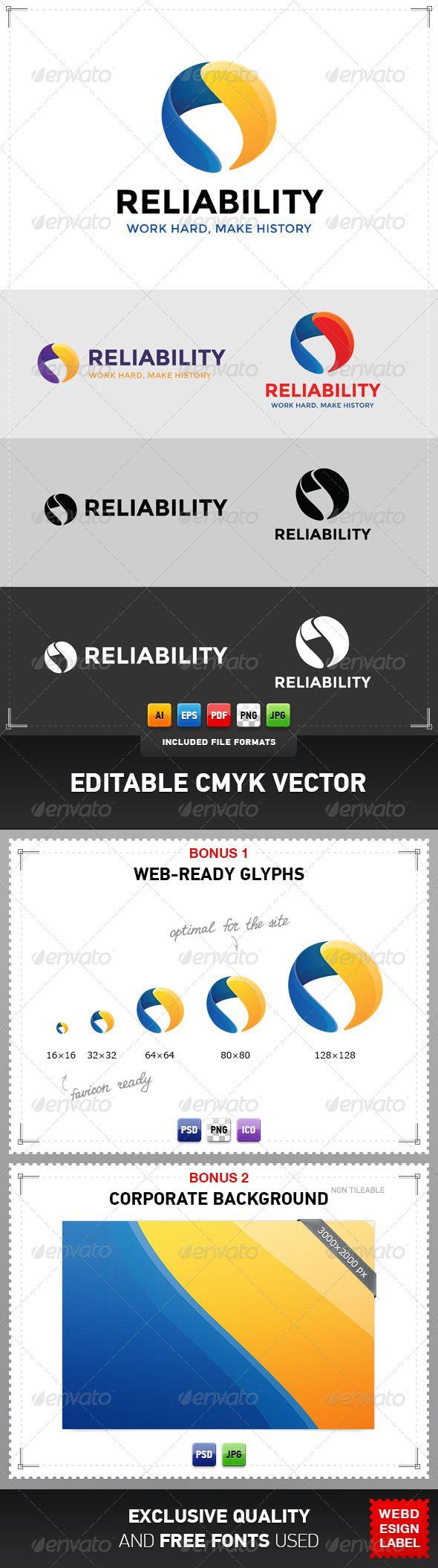 Reliability Logo | Logos, File format and Logo templates