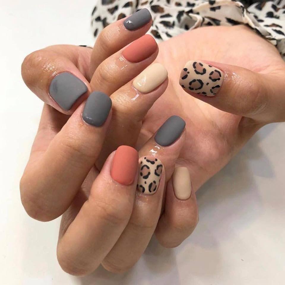 Nails Nailart Nailpolish Nailoutline Nailpolishideas Naildiy Naildesigns Roundnails Shortnails Colorfulnails Leopard Nails Ten Nails Makeup Nails