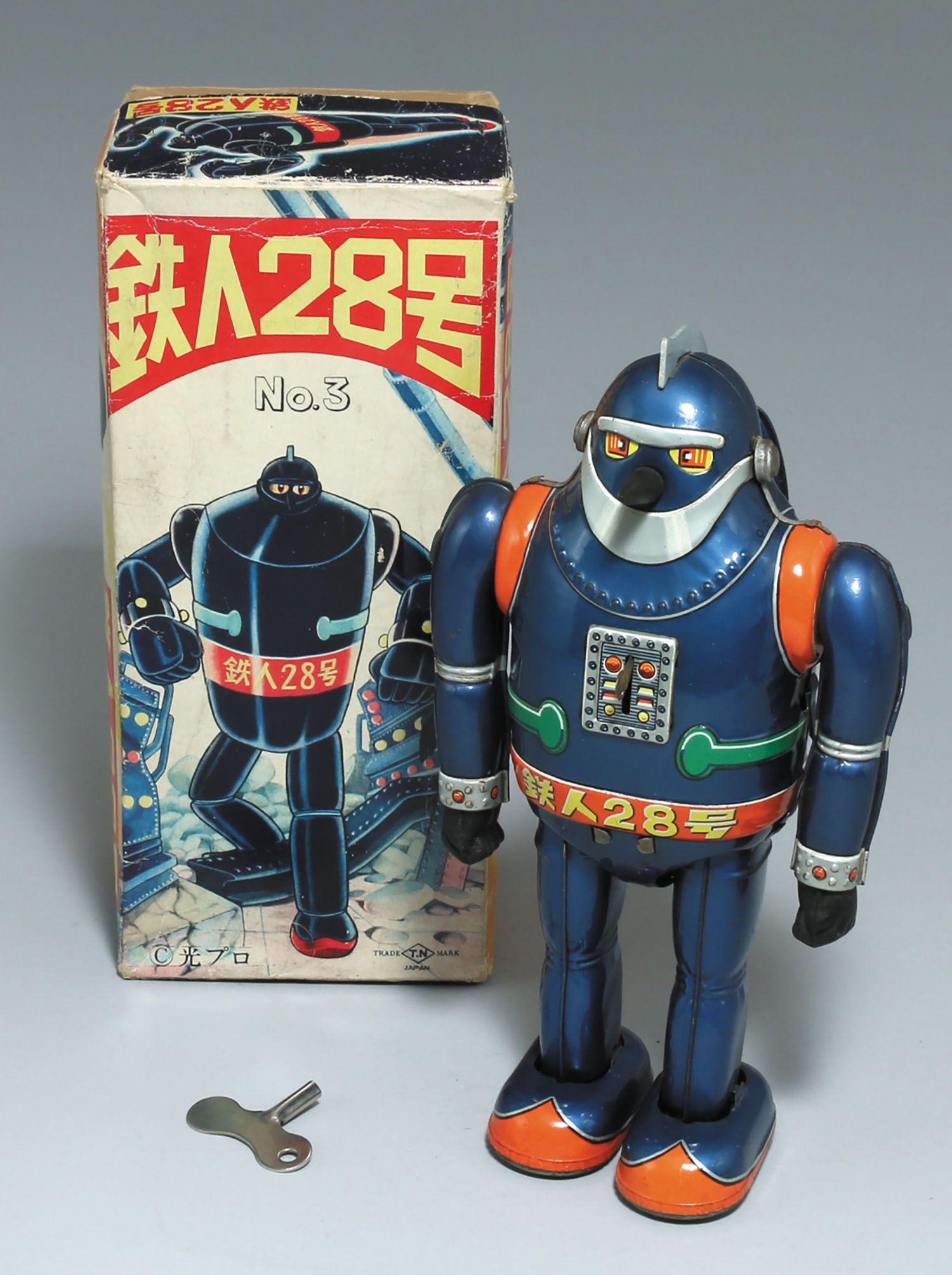 野村トーイ 日本製 鉄人28号no 3 ヴィンテージのロボット 日本のおもちゃ 鉄人