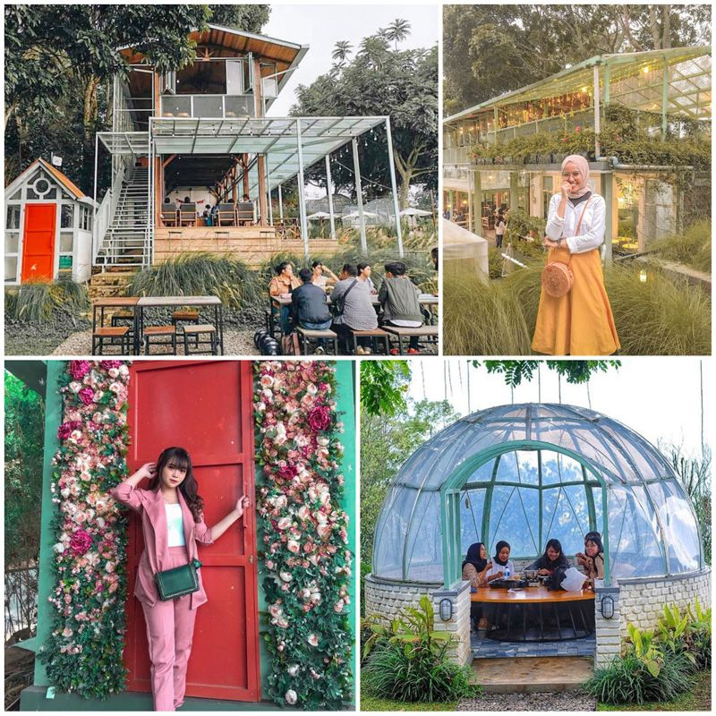 Jardin Cafe Bandung Instagram: These 33 Unique Themed Cafes In Bandung Take You To The