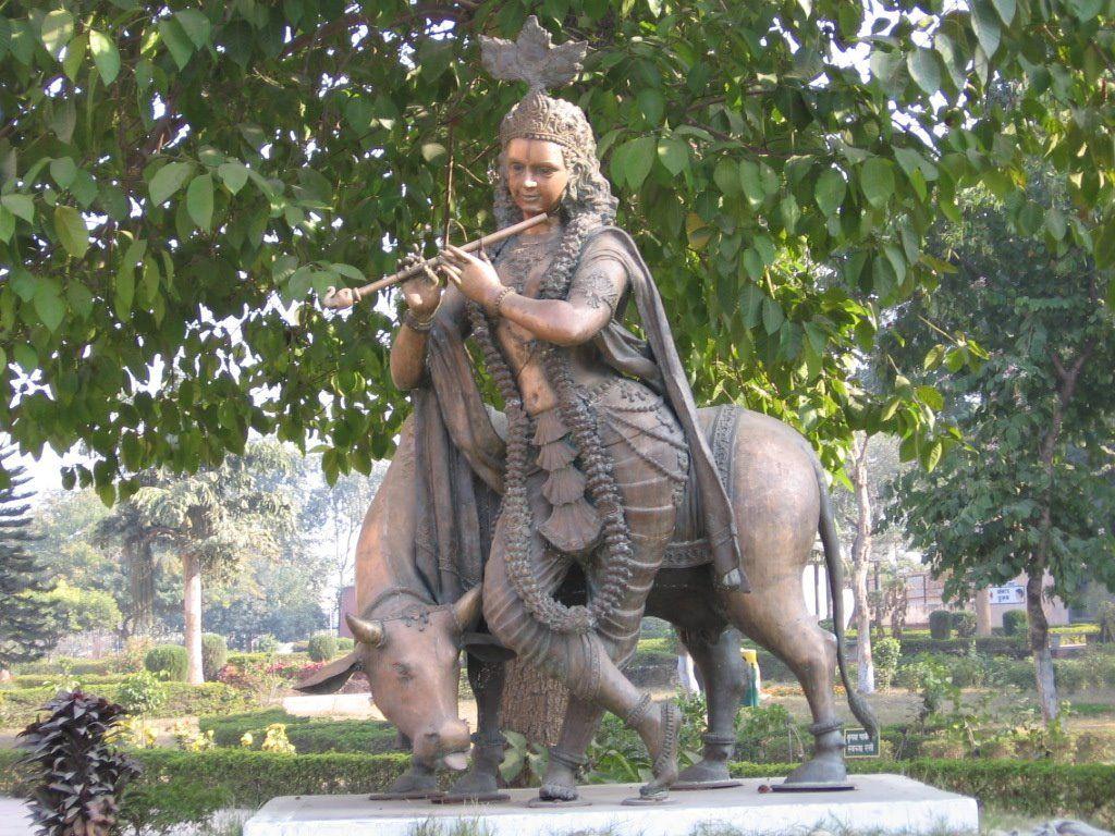 Krishna Museum Statue Kurukshetra This Is Amazing
