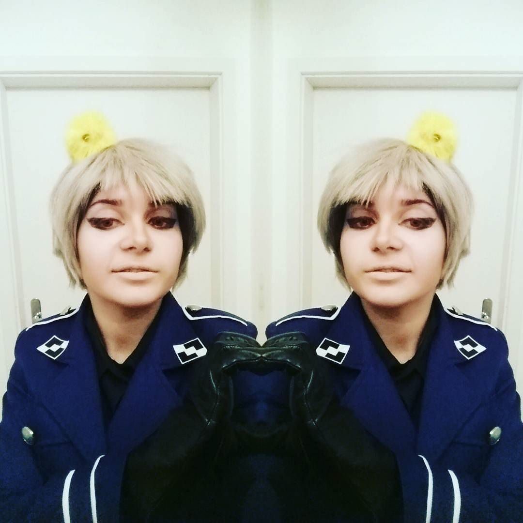 AHAHAHA I LOVE ME SO MUCH I COMPLETED THAT HEART WITH MYSELF . . . #hetalia #aph #aphcosplay #hetaliacosplay #cosplay #crossplay #aphprussiacosplay #aphprussia #gilbertbeilschmidtcosplay #gilbertbeilschmidt #prussiacosplay #hetaliaprussiacosplay #hetaliaprussia #animecosplay #animecostume #completedheart