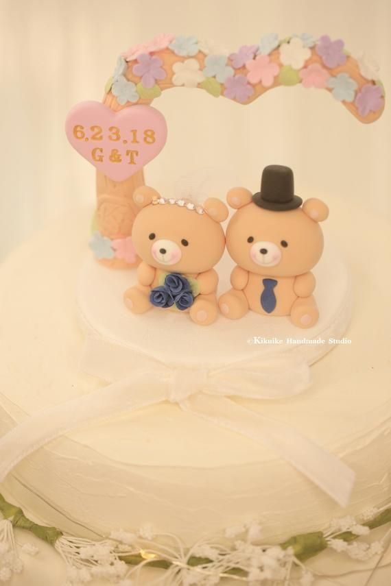 Bear Wedding Cake Topper Products Wedding Cake Toppers Wedding