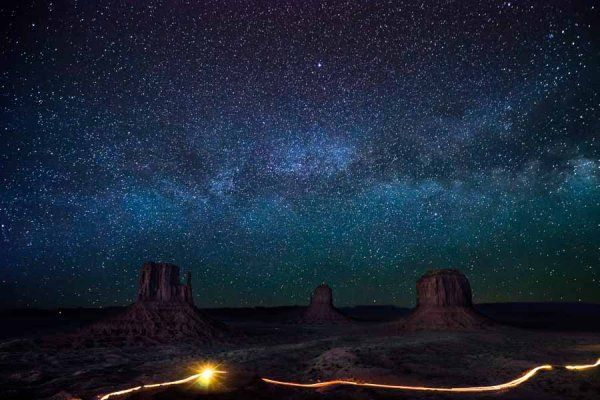 Milky Way Over Monument Valley | James Brandon
