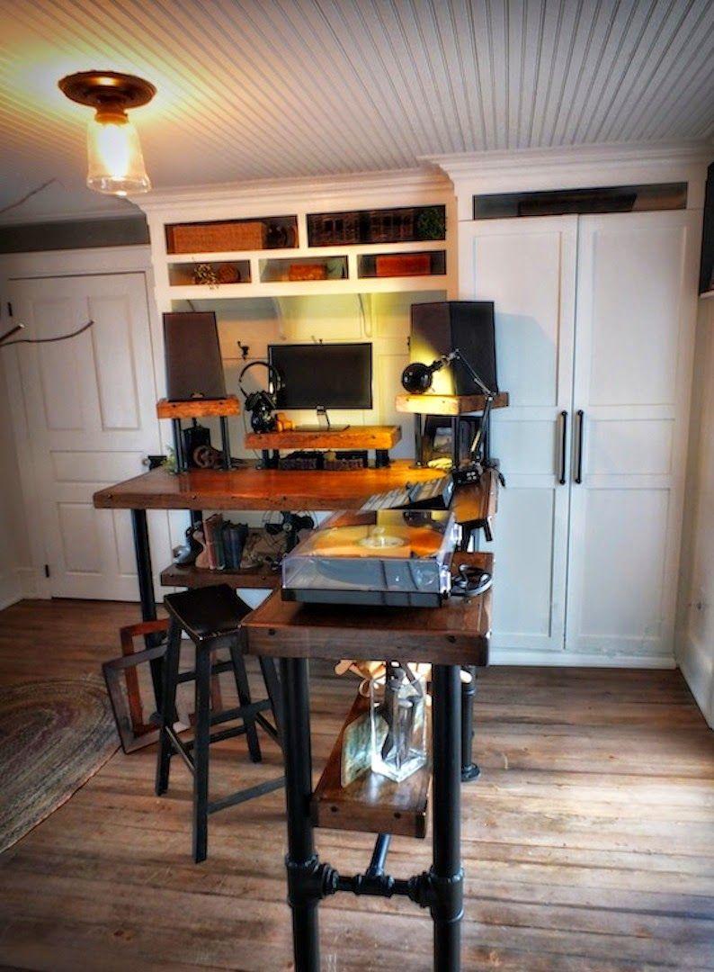 Plain Jane Vika Furuskog Tops into Fab Industrial Desks - IKEA Hackers - IKEA Hackers