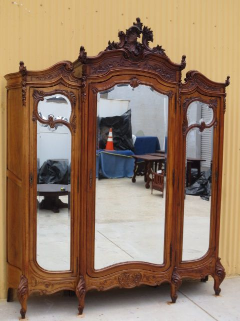 Merveilleux Antique Armoire Antique Wardrobe French Antique Furniture   To Die For!