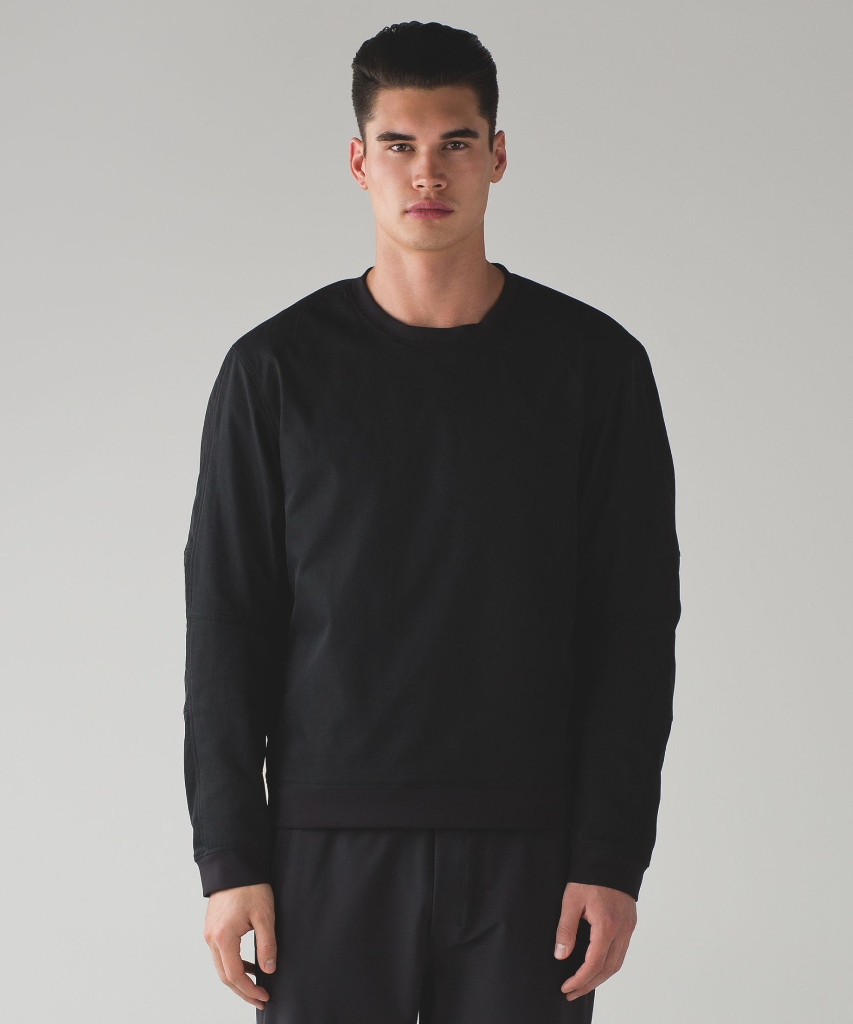 NYC Lab: The Pullover | Long sleeve tshirt men, Mens tops