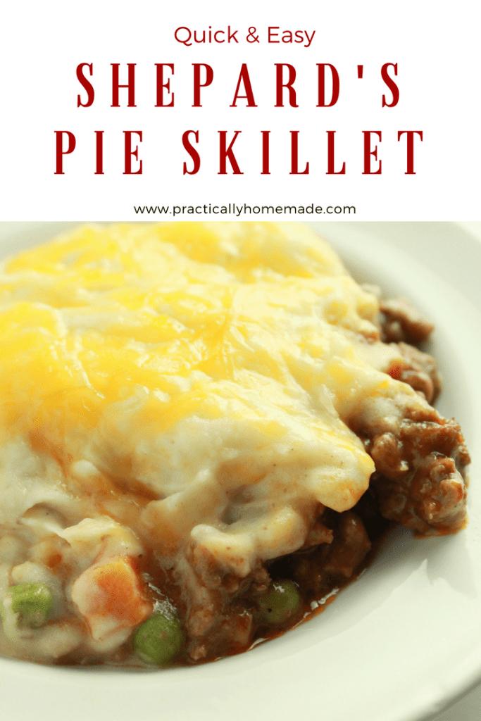 Shepard's Pie Skillet #shepardspie