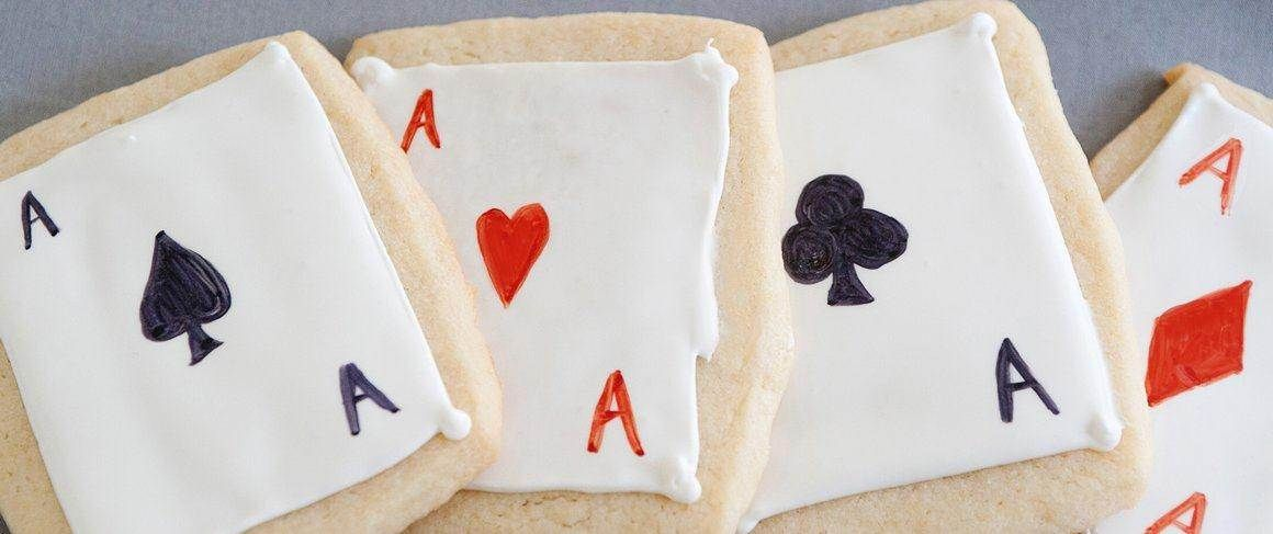 You'll have a full house when you bake these whimsical playing card cookies made with Betty Crocker Sugar Cookie mix. Perfect for casino nights!