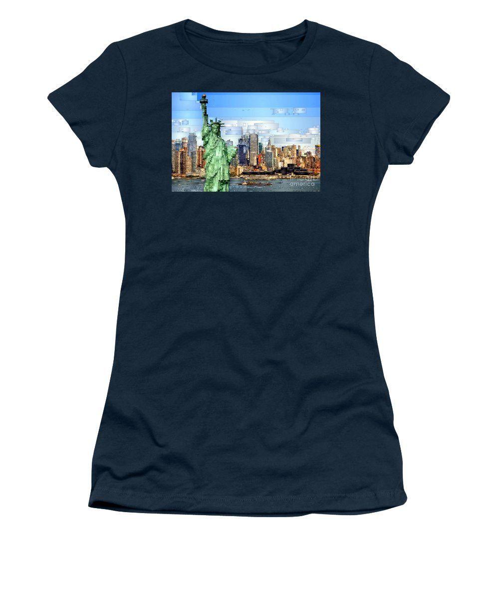 Women's T-Shirt (Junior Cut) - Statue Of Liberty- New York