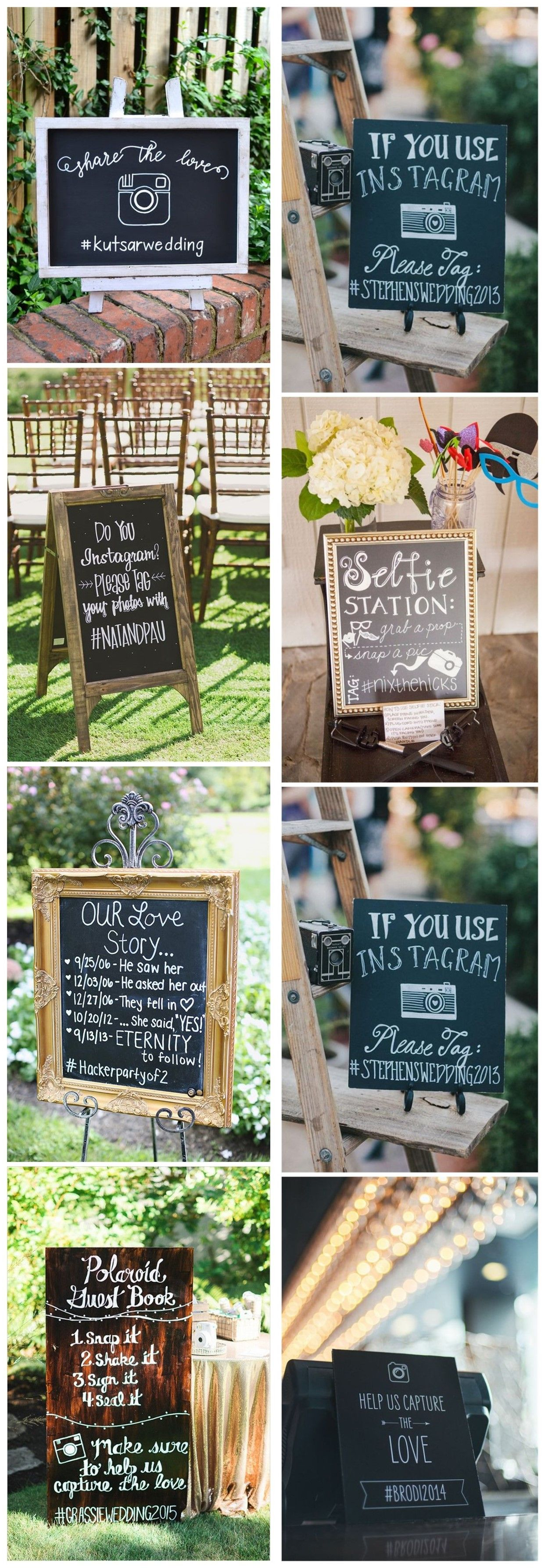 Wedding decorations with flowers november 2018  Rustic Wedding Hashtag Ideas to Share Photos on Your Wedding
