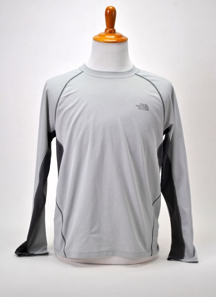 ff6325ab7 The North Face Flash Dry Long Sleeve Gray Large Top Tee Shirt ...