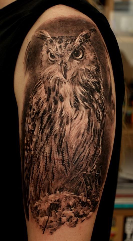 amazing owl tat