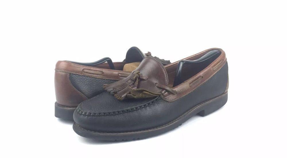 87b2658e9e0 Allen Edmonds Nashua Brown Black Kiltie Tassel Leather Dress Loafers Size  10.5  fashion  clothing  shoes  accessories  mensshoes  dressshoes (ebay  link)