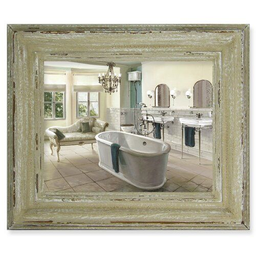 Victorian Bathroom Framed Painting On Canvas East Urban Home
