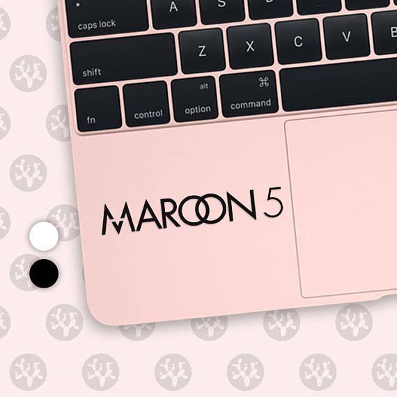 Maroon 5 maroon 5 decal maroon 5 sticker guitar sticker