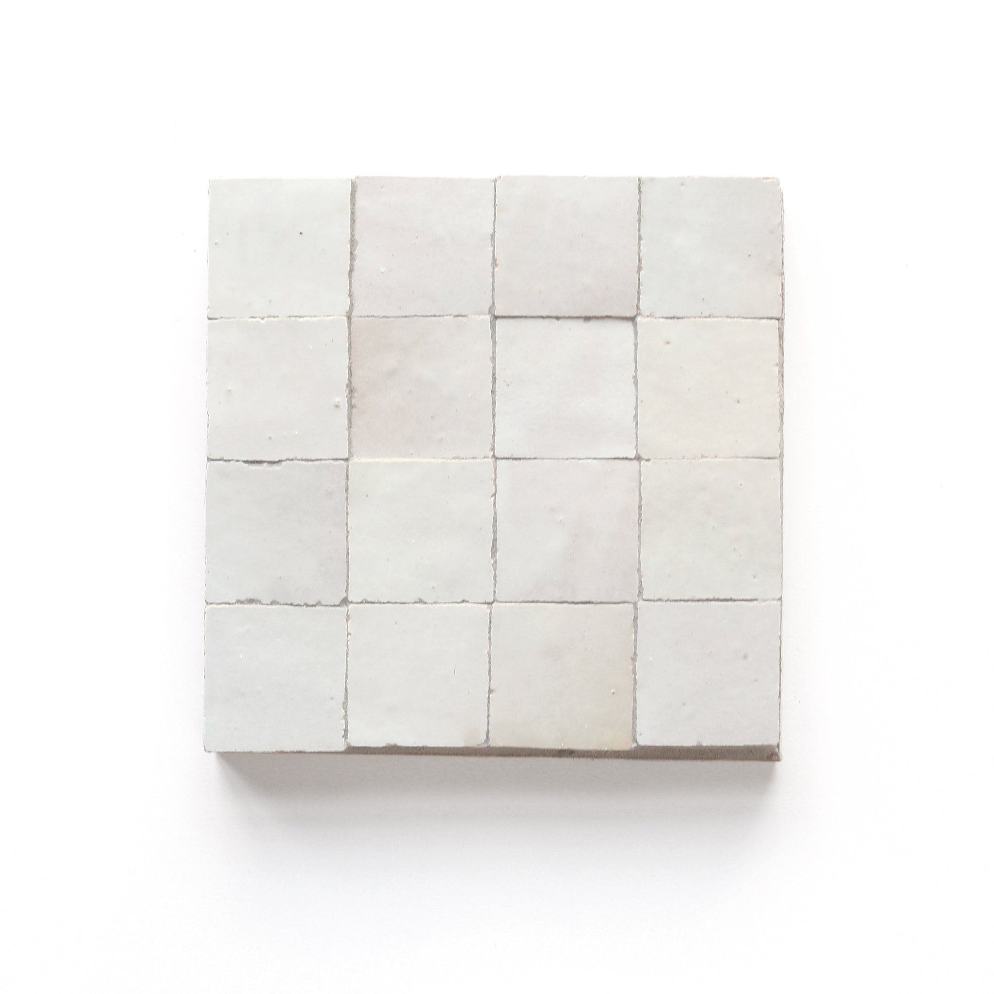 Weathered White Mounted Zellige 2 X2 X3 8 In 2020 Weathered White White Bathroom Tiles White Tiles