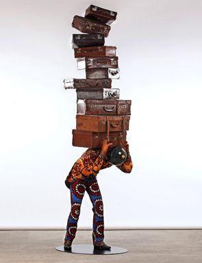 Yinka Shonibare, Homeless Man, 2012.
