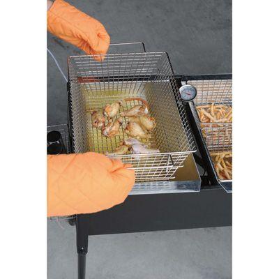 kitchener triple basket deep fryer kitchen island table with stools rustica 2017 pinterest