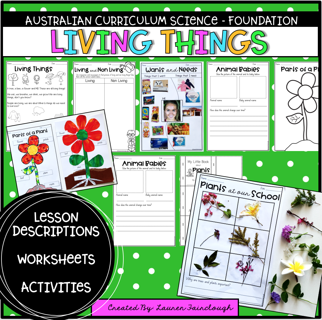 Australian Curriculum Foundation Science