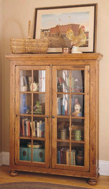 Discontinued And I Still Want One : ( Broyhill Attic Heirloom Library  Cabinet