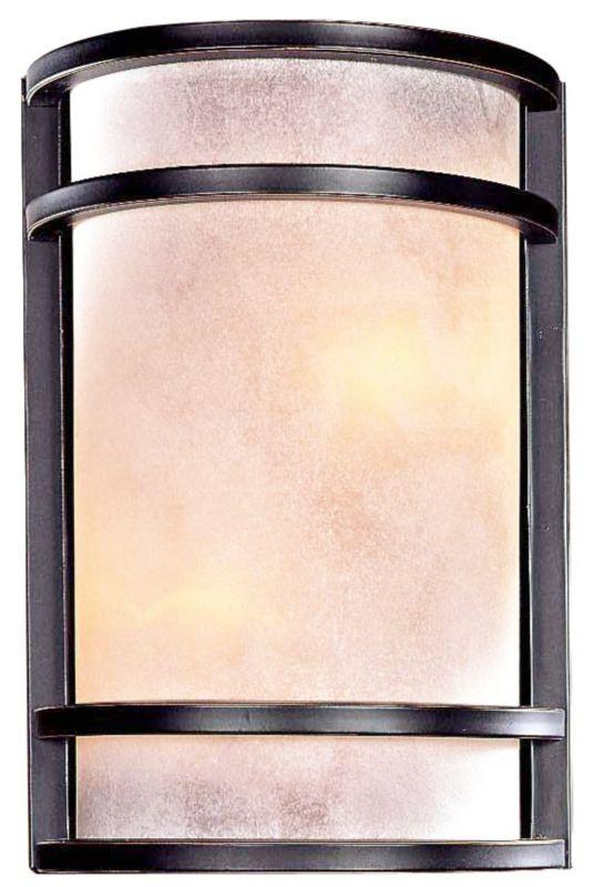 Minka Lavery Restoration Bronze 7 3/4-Inch-W Wall Sconce -