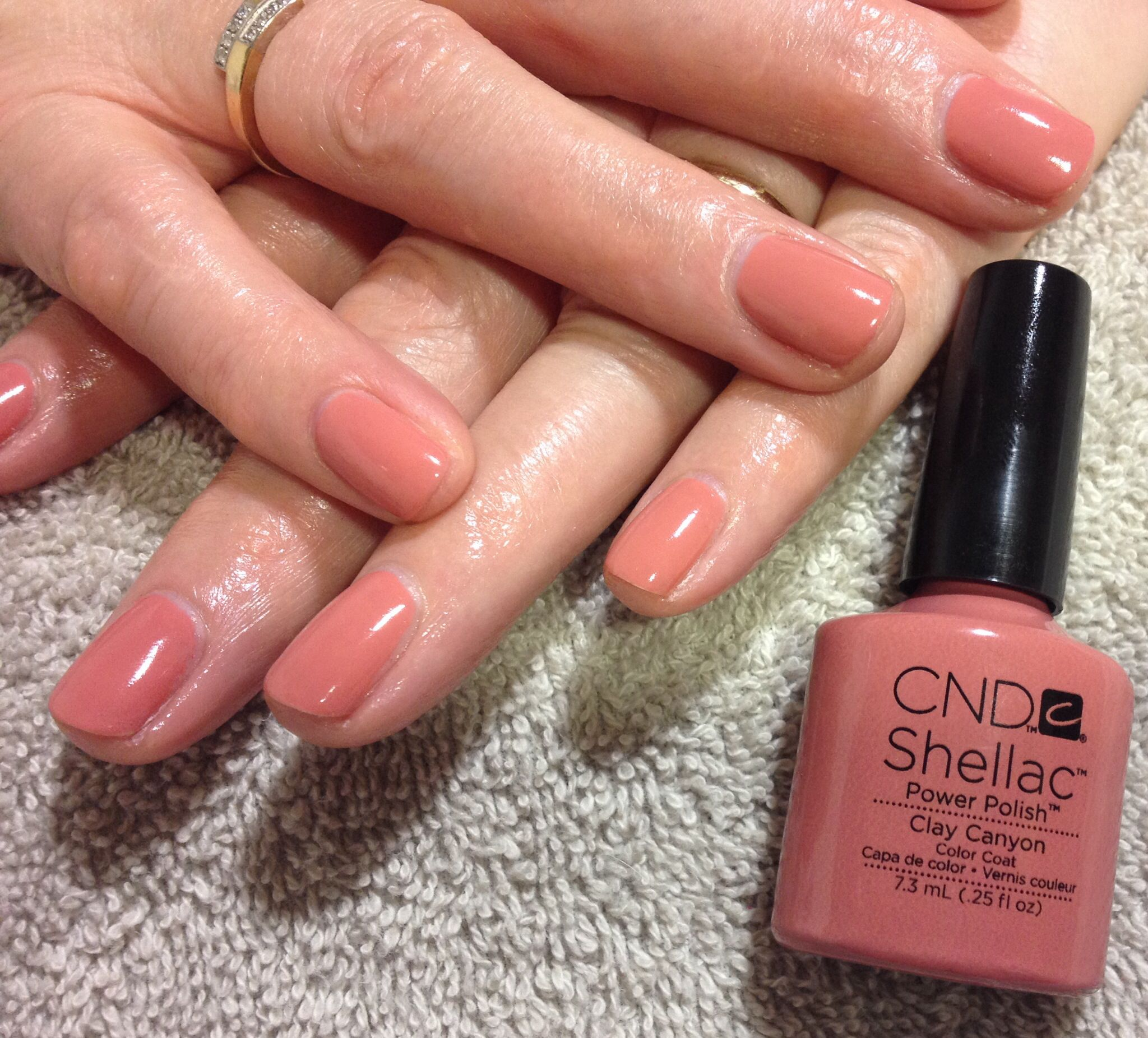 Shellac Clay Canyon Cur Color Very Nice For Summer Cnd Nails