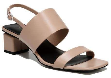 Via Spiga Womens Forte Block Heel Sandal,